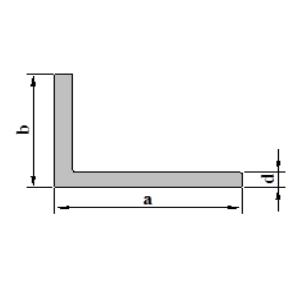 Stranggepresste Aluminiumprofile Winkel